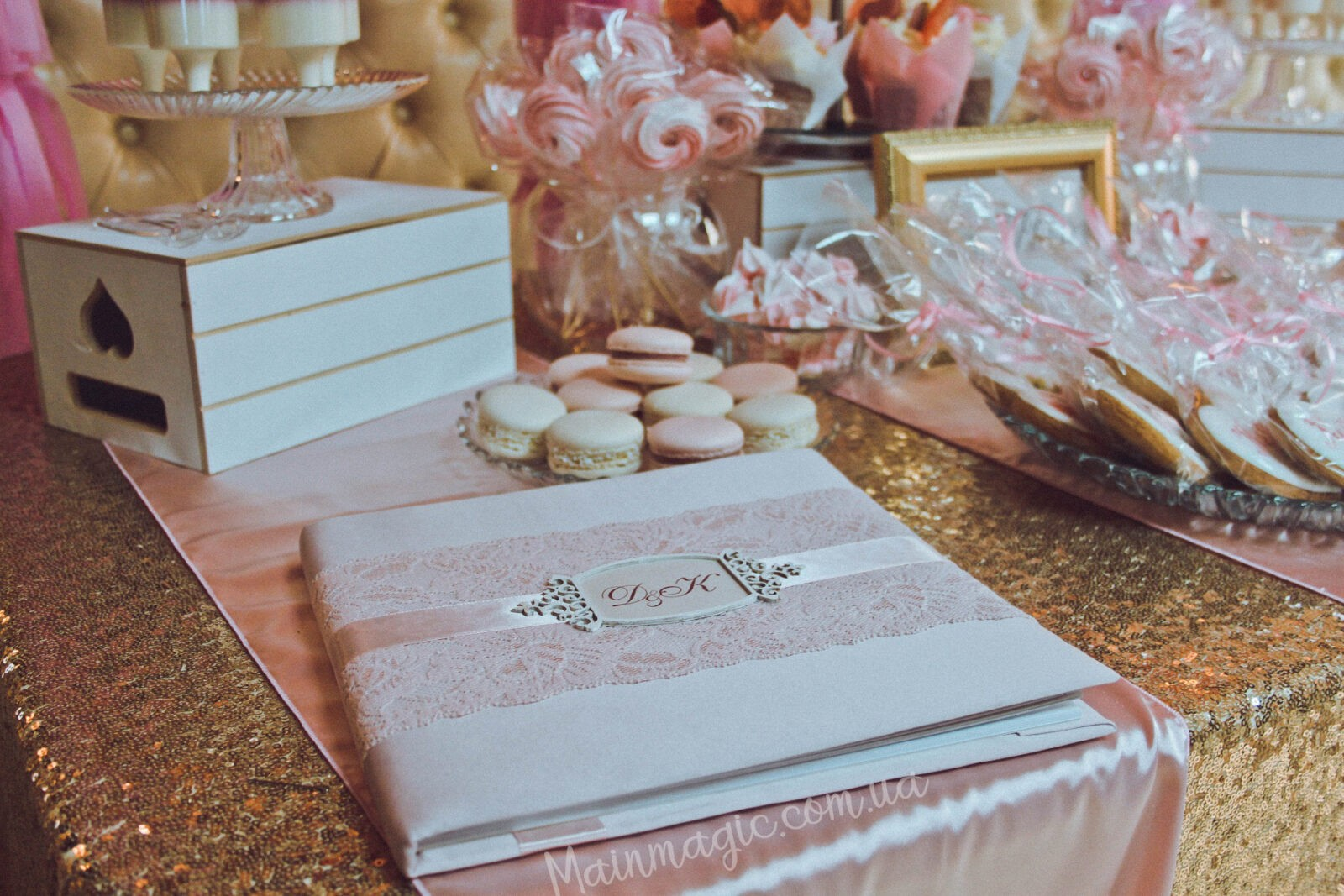 Свадьба в пудровом цвете