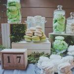 Серо-зеленая свадьба в стиле ботаник