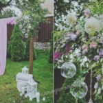 Сиреневая свадьба в стиле Прованс